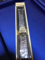 Duchess Stainless Vintage  Scissor Watch Band Mens  Full Expansion NOS