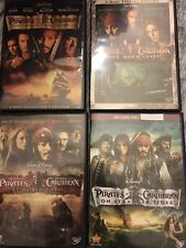 New ListingPirates of The Caribbean 1, 2, 3 & 4 On Stranger Tides Dvd Collection 4 Movies