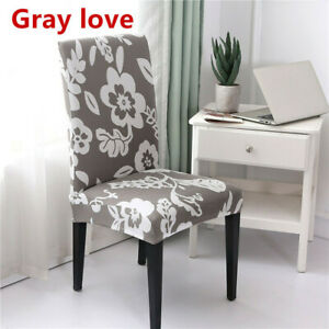 1pc Stretch Spandex Fashion Chair Cover Wedding Party Banquet Chair Slipcovers