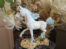 """Andrew Hull DRAGONSITE """"MEADOW"""" Unicorn Figurine by Munro makers of Faerie Glen"""