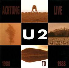 U2 Into The Heart Achtung Live 1980 To 1988 '92 CD mega rare