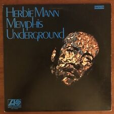 Herbie Mann - Memphis Underground (LP, 1969, Atlantic) Vinyl Stereo SD-1522