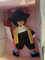 "Vintage 1993 Madame Alexander Captain Hook Storyland 7"" Doll & Box / MINT"