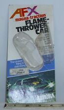 AFX MAGNA TRACTION FLAME THROWER MONZA GT HO SLOT CAR 1970s CARD ONLY