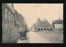 Netherlands SLUIS Markt Market 1926 PPC
