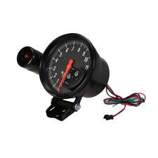 """5"""" Carbon Fiber Tachometer 11K Rpm Gauge + Shift Light Civic Integra Black E4M3"""