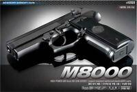 Academy M8000 Power Pistol Airsoft Handgun 6mm BB Toy Gun Kids Children Military