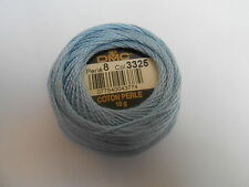 DMC Perle 8 Cotton Ball Blue Colour Number 3325