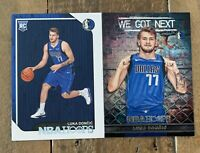 📈Invest Lot (2) LUKA DONCIC 2018-19 NBA HOOPS ROOKIE BASE #268 + We Got Next
