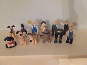 Wallace & Gromit Playset Figure Bundle