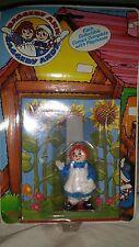 """Raggedy Ann Raggedy Andy 3"""" PVC Figure Cake Topper 1988 Tara Toy Corp NEW"""