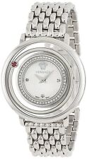 Versace Women's VFH060013 Venus Stainless Steel Red Topaz DIAMOND Watch