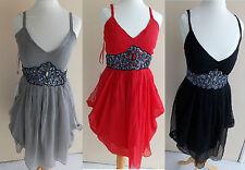 Love Peach Summer Holiday Clubbing Beach Dress Sizes 8-12 Short