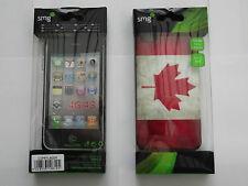 CUSTODIA PROTETTIVA PER APPLE IPHONE 4G/4S,BANDIERA CANADA,NUOVO
