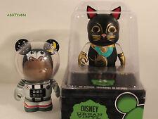 "DISNEY VINYLMATION 3""★ URBAN REDUX ★ CHASER - SPACE MONKEY & BLACK CAT TOPPER ★"