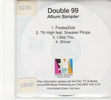 (FD9) Double 99, 4 track Album Sampler - DJ CD