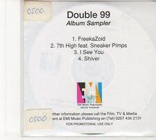 (FD9) Double 99, 4 track Album Sampler - DJ CD