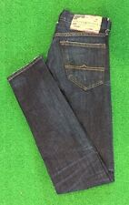 RALPH LAUREN DENIM & SUPPLY Mens Low Skinny Dark Denim Jeans New 067 Size:29/32