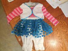 LaLaLoopsy (Mittens fluff N' Stuff) Dress Halloween Costume- Size 4-6X- NEW