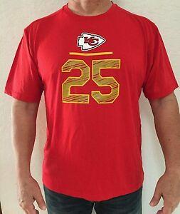 Men's Kansas City Chiefs Jamaal Charles Majestic Red T-shirt