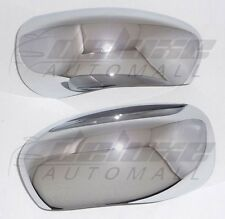 Chrome Mirror Covers FOR Black Mirrors FITS Chrysler 300 Dodge Charger Magnum