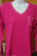 Lord & Taylor Women's Pink top, long sleeve Large