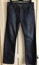 Burton Menswear 🌟Mens 34W 34L Denim Straight Leg Jeans🌟Great Condition
