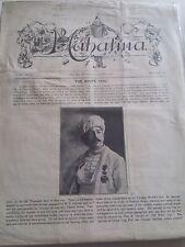 Vintage Mahatma Ah Foon Issue 1901 Vol.Iv No.X