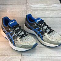Asics Gel-Contend 4 Men's Shoes Silver Classic Blue Black T715N Size 9.5