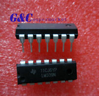 100PCS IC LM339 LM339N DIP LOW POWER Quad Voltage Comparator NEW DATE CODE LM1