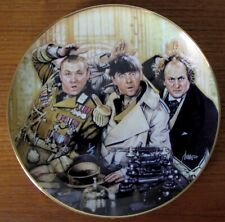 The Three Stooges Franklin Mint Limited Edition Collectible Fine Porcelain Plate