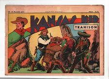 COLLECTION .WILD WEST n°18 nouvelle série -  Kansas Kid.  SAGE 1949 Carlo COSSIO