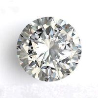 Natural Brilliant White Diamond H Color 2.75cts 9mm Round Shape VVS1 Clarity