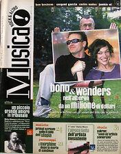 MUSICA 227 2000 Wim Wenders Bono Ben Bostrom Mark Sandman Primal Scream Kayah