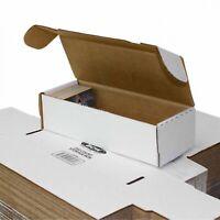 550 Count Cardboard Baseball Sports Trading Card Storage Box Boxes Bundle of 50
