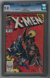 Uncanny X-Men #258 CGC 9.8 White 3rd App New Psylocke Jim Lee Marvel Rai Knull