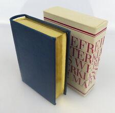 Mini libro: Marx Engels palabras con llena de oro corte!!! Offizin andersen Nexö bu0710