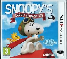 Snoopy's Grand Adventure (Nintendo 3DS) BRAND NEW games
