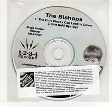 (GP380) The Bishops, The Only place I Can look Is Down  - 2007 DJ CD