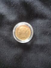 More details for queen victoria young head 1855 sovereign