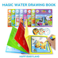 Reusable Water Colour Book Doodle Paint Drawing with Refillable Water Pen