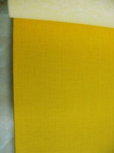 YELLOW STRETCH STRONG VINYL MOTORCYCLE SEAT COVER SIZE 100 CM  X  65 CM