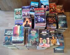 Pick any 4 Star Trek Books - 100+ Titles to choose from-Trek, TNG, DS9, Voyager