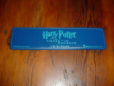 Harry Potter Leaterette Bookmark Rare Leatherette Order Of The Phoenix