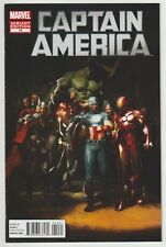 Captain America (2012) #10 - Gerald Parel 1:25 Variant - Marvel