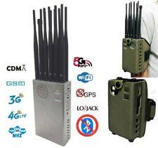 GSM / CDMA / GPS / 3G / 4G / Lojack / WIFI / VLan / Bloker Jammer ( 12 Antenne )