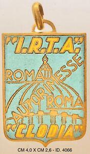 "Roma ""I.R.T.A. Clodia"" Autorimesse portachiavi pubblicitario ""4066"""