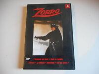 DVD - ZORRO N° 4 épisodes 7- 8 - 9 - 10 - 11 - 12