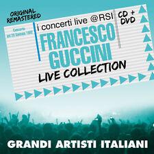 "FRANCESCO GUCCINI  ""LIVE COLLECTION@RSI""  (CD+DVD)"