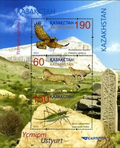 Kazakhstan 2013. Fauna. Birds. Ustyurt Nature Reserve. Souvenir Sheet. MNH**